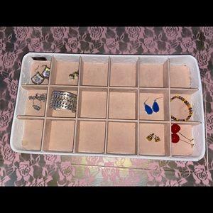 Jewelry tray 18 slot